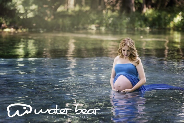 Florida Springs Maternity Photo Shoot