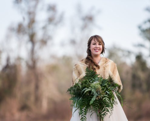 Outdoor Florida Wedding Natural Bouquet
