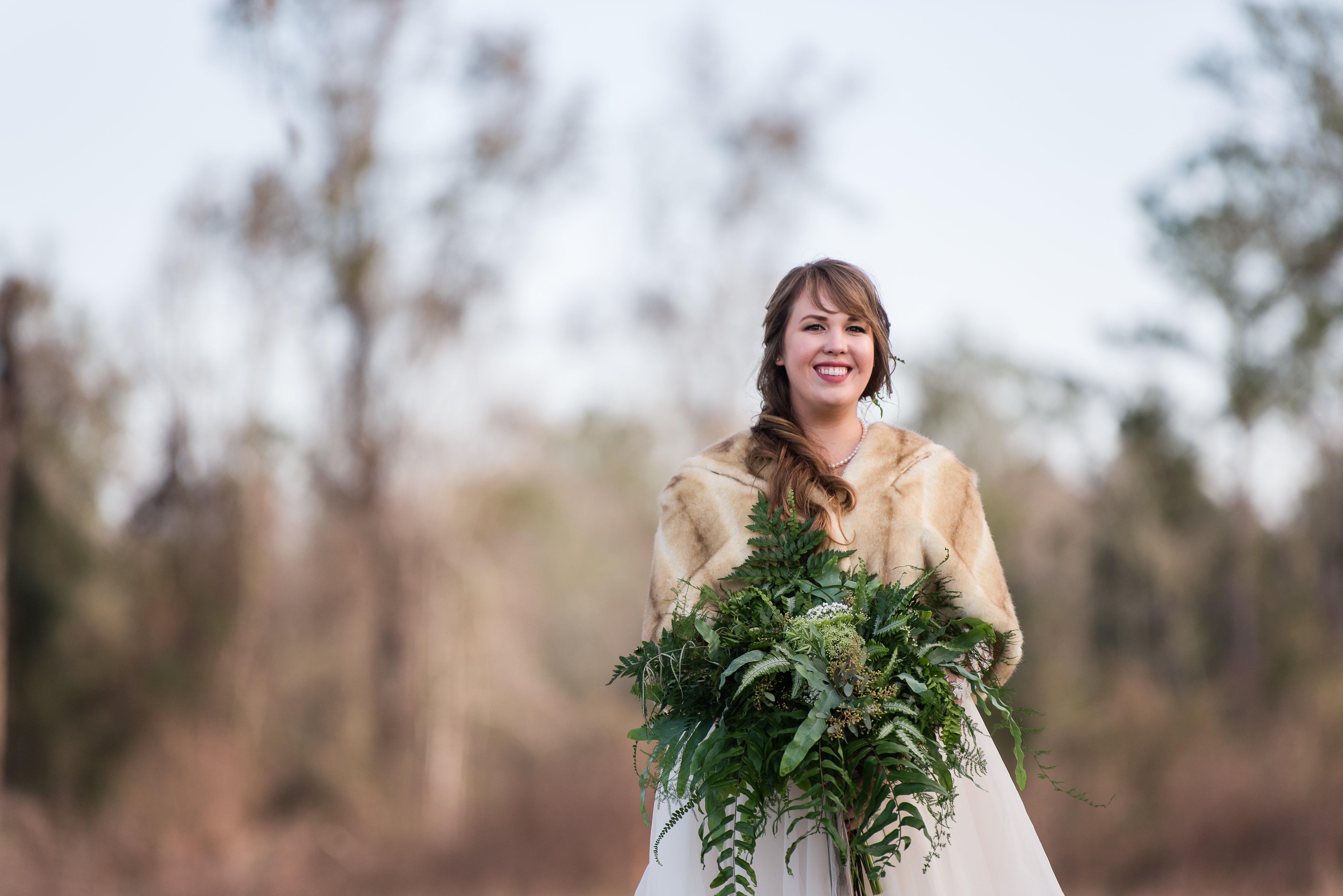 Outdoor Florida Wedding Natural Bouquet
