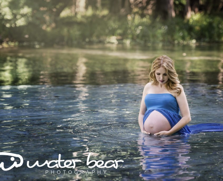 Florida Springs Maternity Photo Shoot