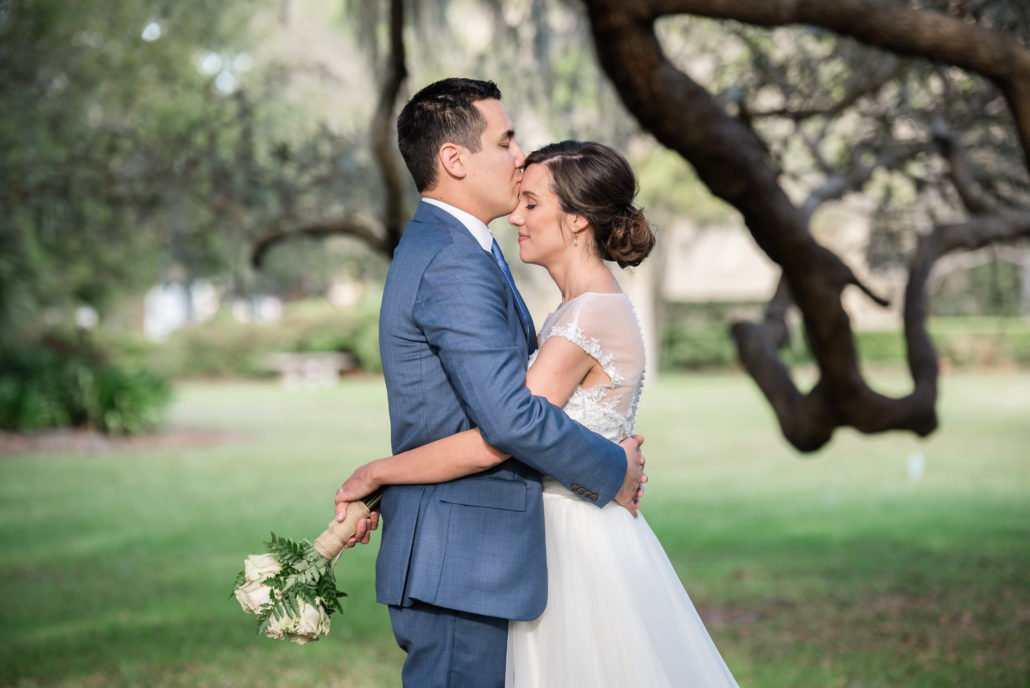 thomas center wedding live oak trees