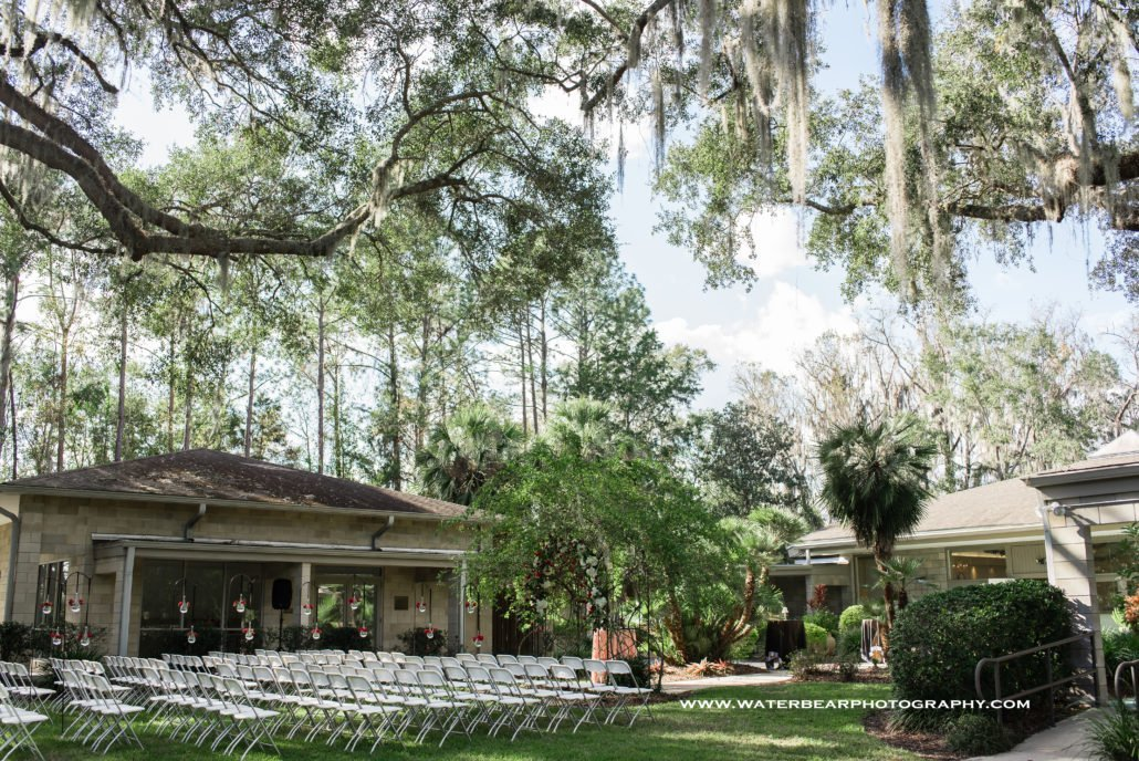 gainesville garden club wedding ceremony