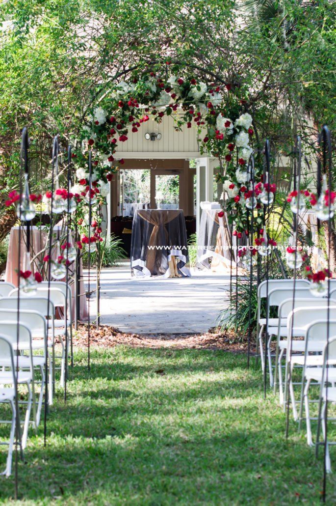 gainesville garden center wedding