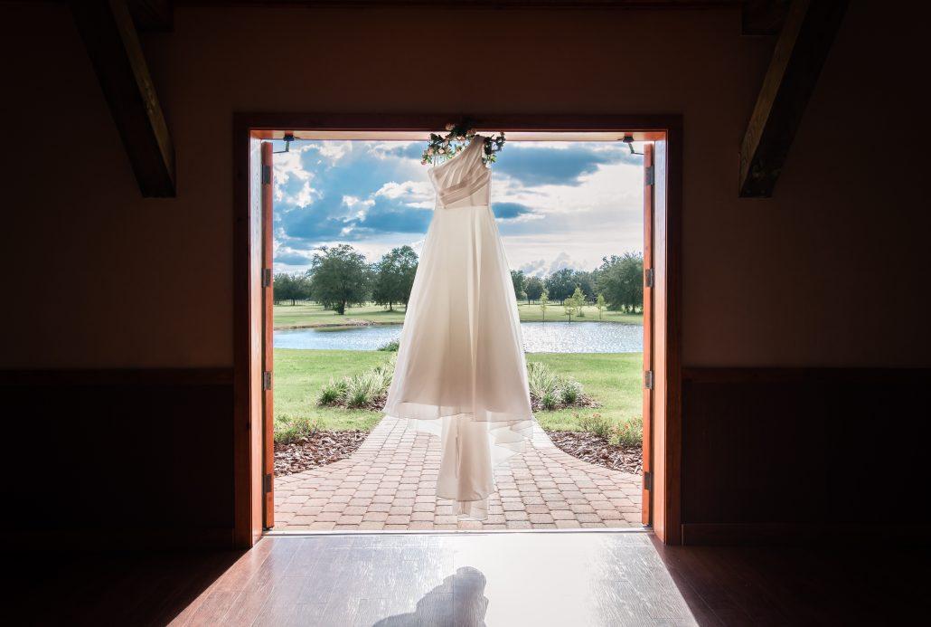 C Bar Ranch wedding gown