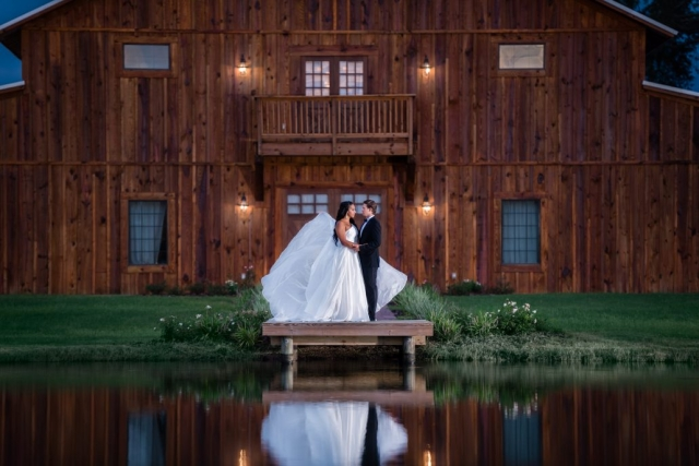 C Bar Ranch Barn Wedding Gainesville