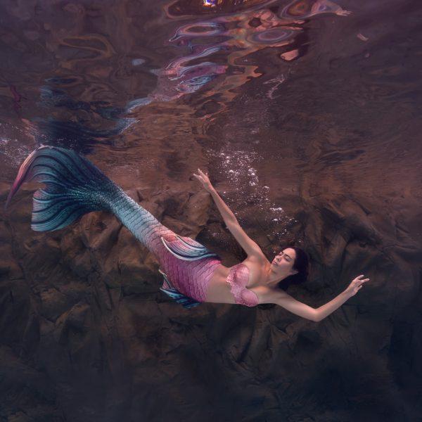 underwater mermaid photographer - water bear photography - gainesville florida