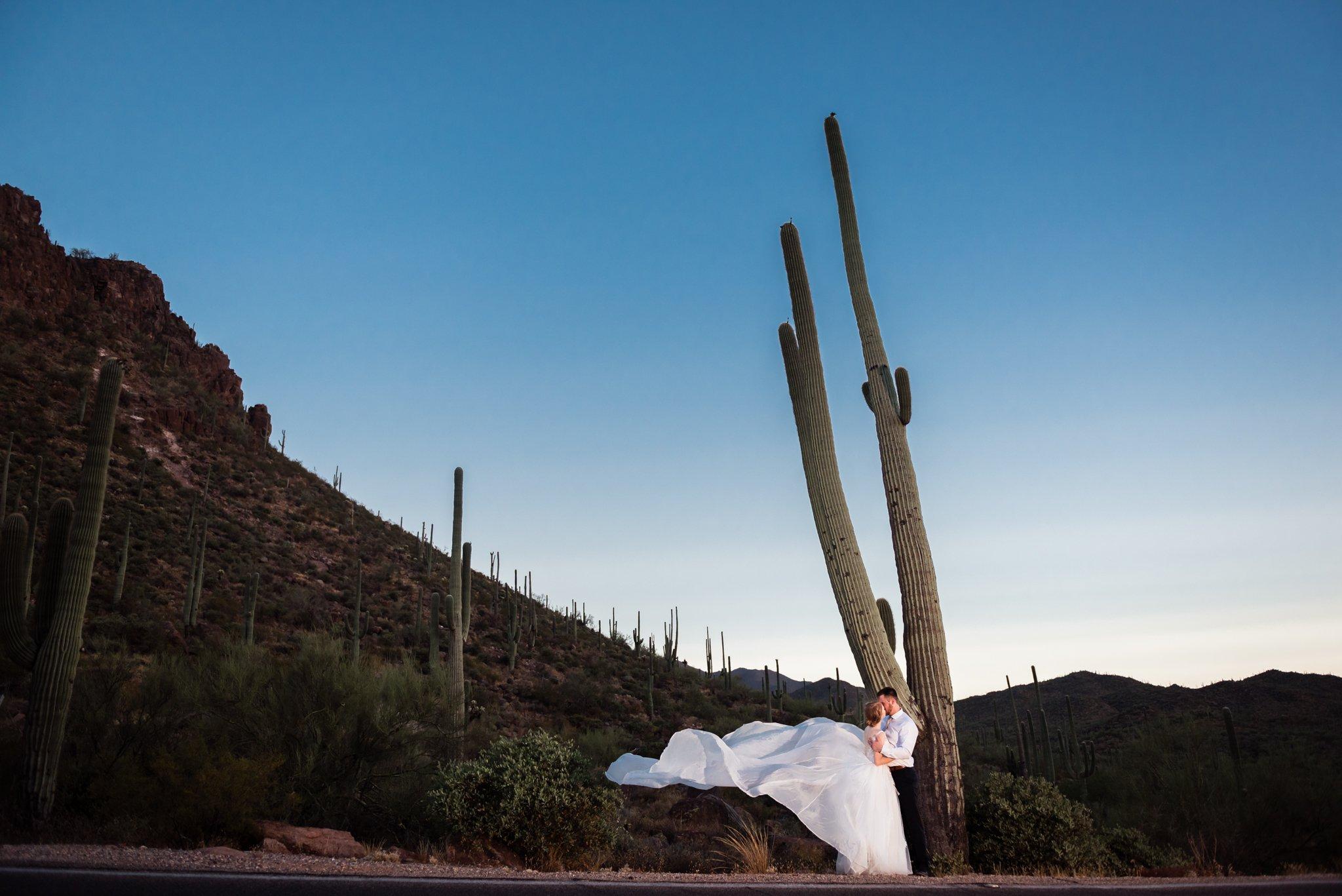 Wedding elopement photography fine art portrait photographer water bear photography Tucson Arizona USA