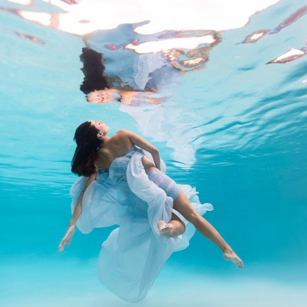 Award winning underwater maternity photography fine art portrait photographer water bear photography studio Gainesville Florida USA
