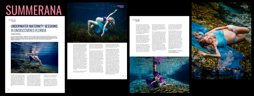 Underwater Maternity Florida Summerana Article Water Bear Photography