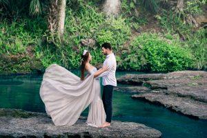 Bridal wedding photoshoot at kelly rock springs