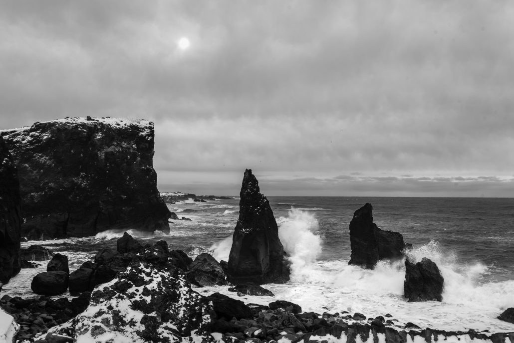 Black Cliffs, Reykjavik Iceland, Travel Wedding and Elopement Photography