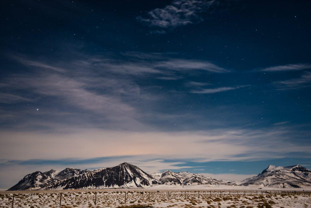 Reykjavik Iceland, Night Northern Lights Photography, Travel Wedding and Elopement Photographer
