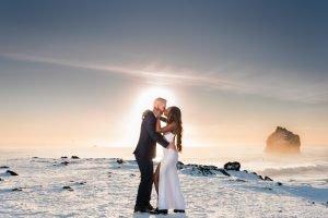 Adventure Travel Elopement, Wedding, Vow Renewal, Iceland Photography, Water Bear