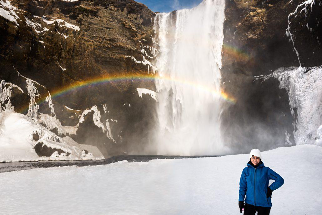 Skogafoss Waterfall, Vik Iceland, Travel Wedding and Elopement Photographer