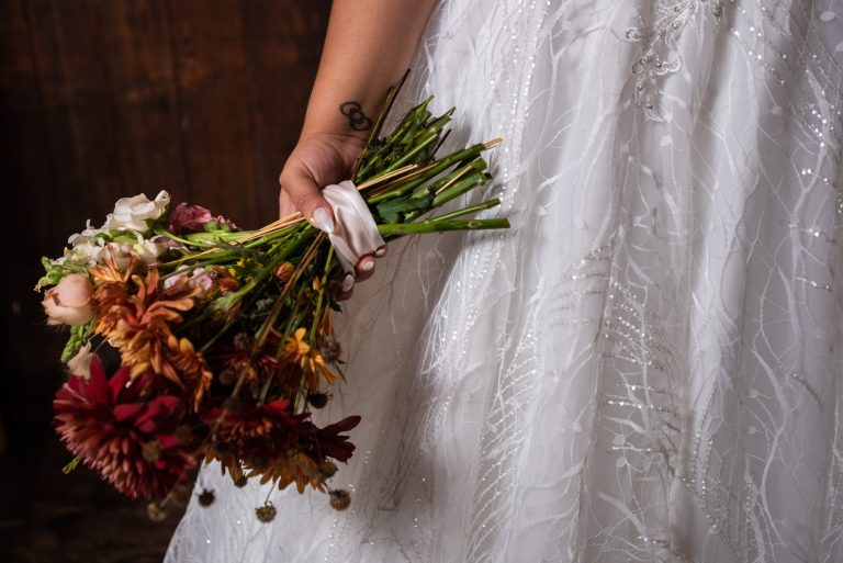 Depot park gainesville florida wedding bridal bouquet garden and grace florals