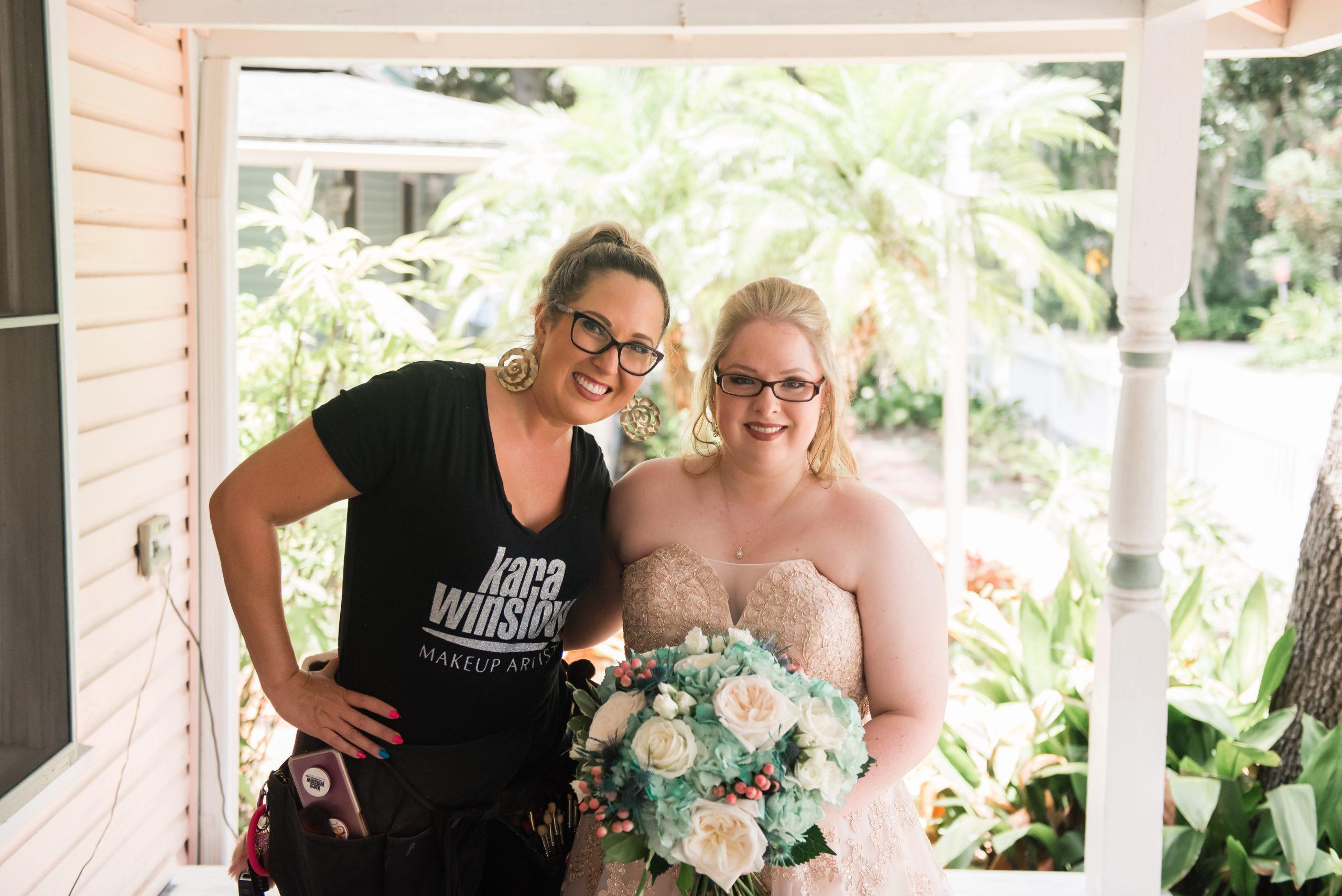 Kara Winslow Wedding Makeup Artist Gainesville Florida