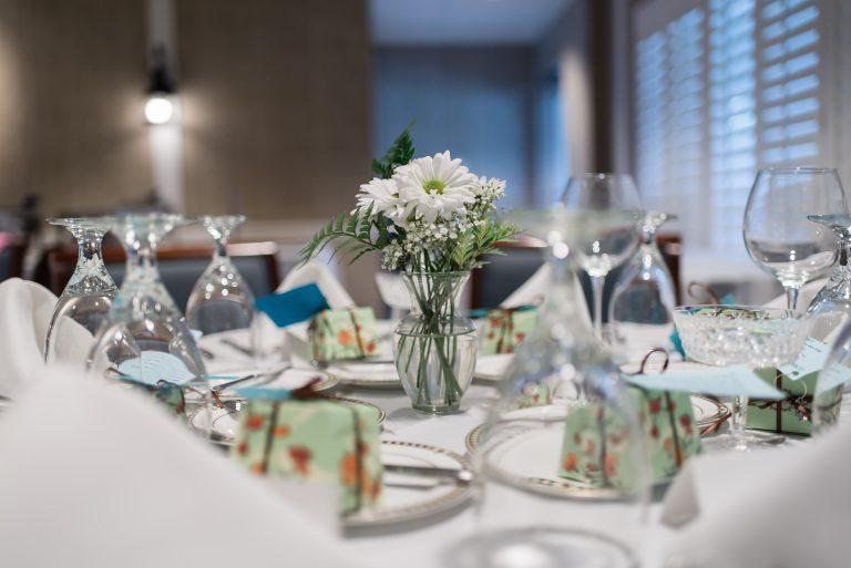 wedding reception table arrangements vero beach yacht club florida