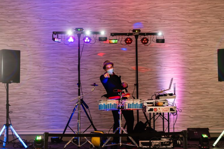 Elio Piedra Brings the Fiesta to a Wedding Reception at the Hilton Hotel, University of Florida Gainesville