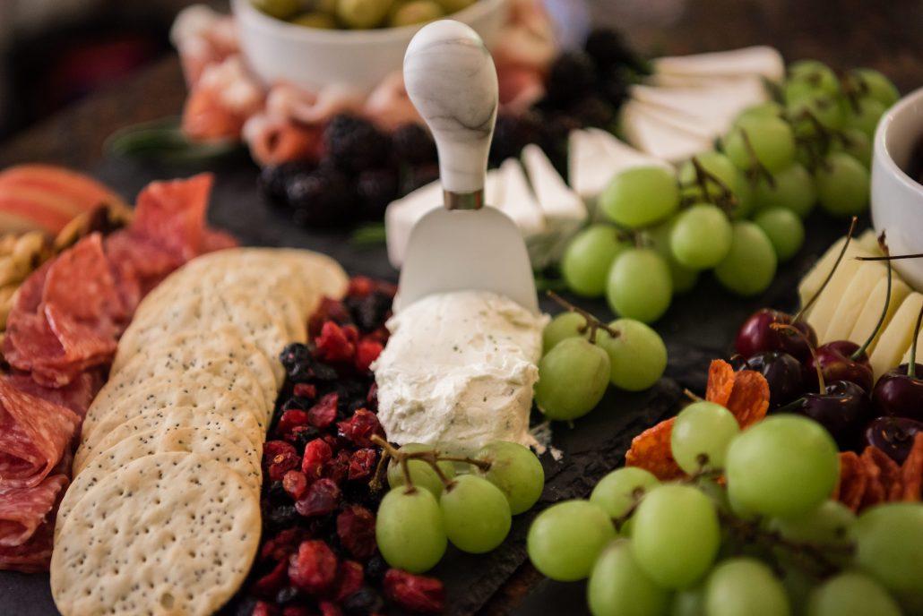 FTG fine catering wedding menu