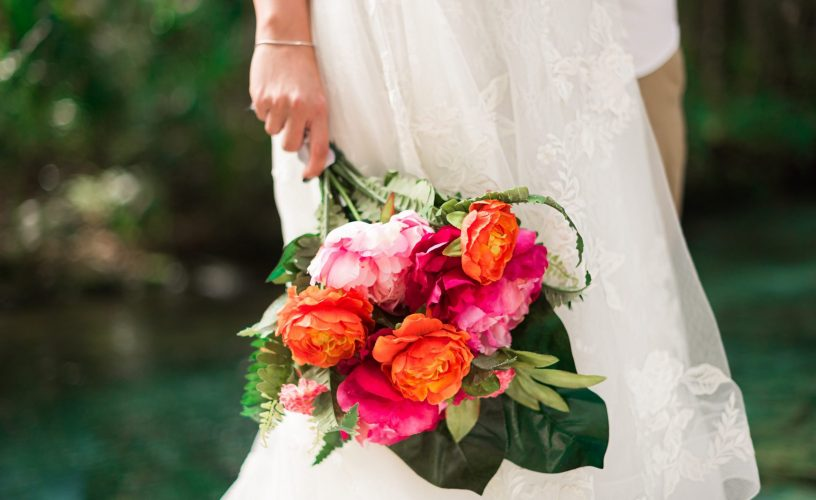 Kelly rock springs park apopka florida wedding bridal bouquet garden and grace florals